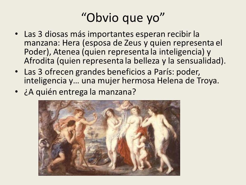 A Afrodita, embelesado con Helena de Troya