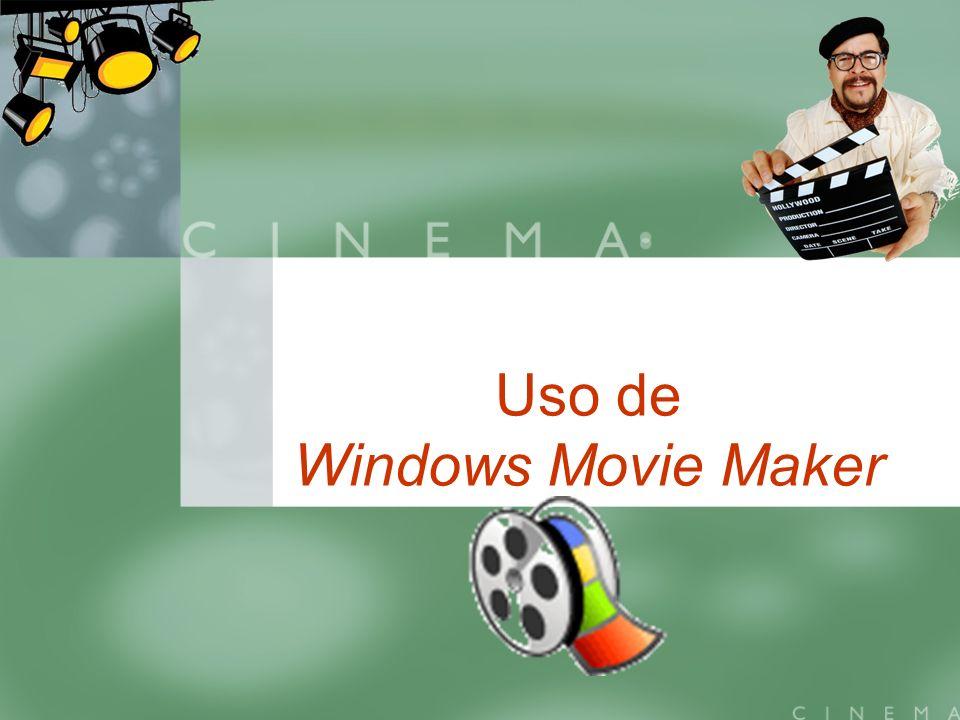 Uso de Windows Movie Maker