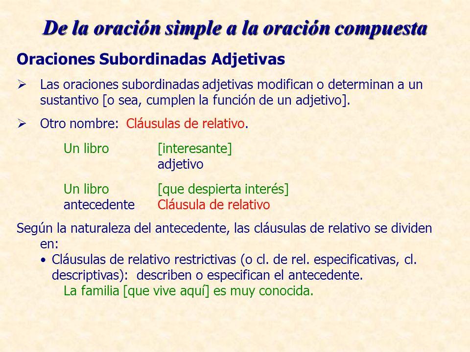 Cláusulas de relativo no restrictivas (o cl.de rel.