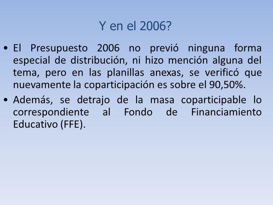 Y en el 2006.