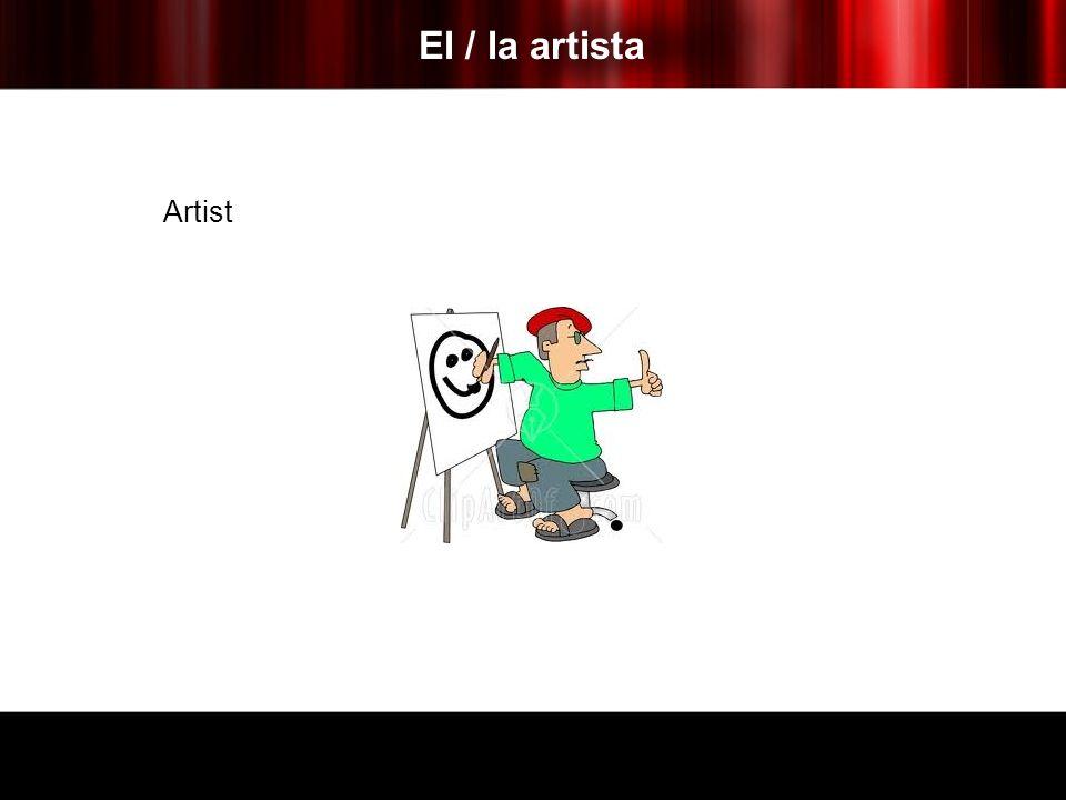 El / la artista Artist