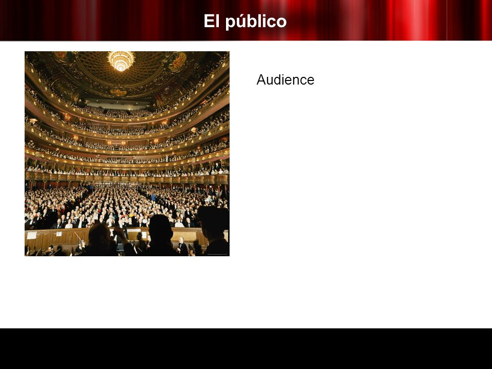 El público Audience
