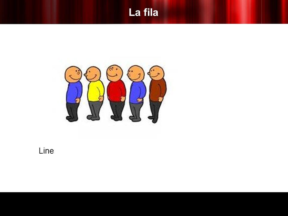 La fila Line