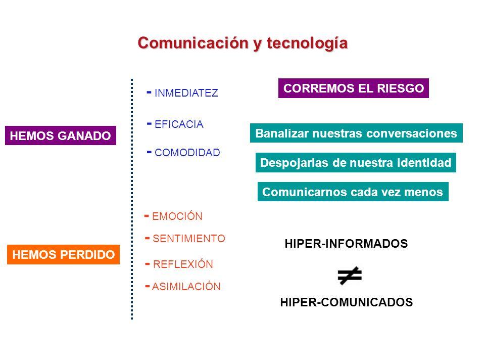 Comunicación y tecnología SEGUNDO CASO T + Te quiero mucho