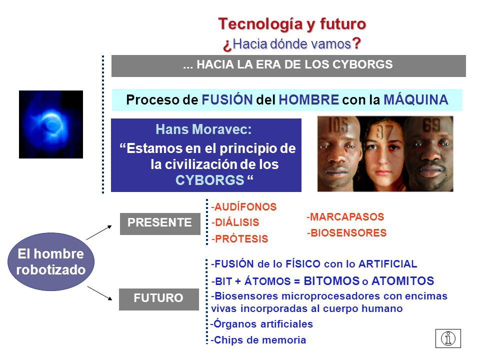 Tecnología y futuro ¿ Hacia dónde vamos .