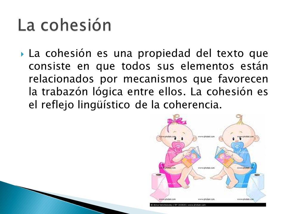 Las repeticiones de palabras o la sustitución de las mismas y la utilización de sinónimos o hiperónimos.