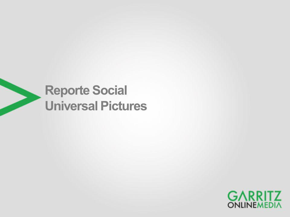 Reporte Social Universal Pictures