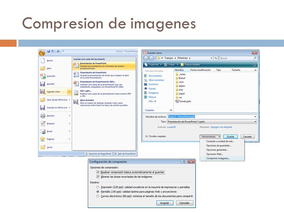 Compresion de imagenes