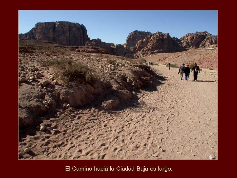 Sofisticado sistema hidráulico con túneles y cámaras de agua, construidos por los antiguos Nabateos. Detalle
