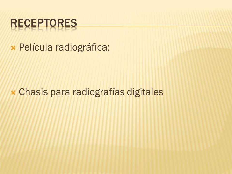 Película radiográfica: Chasis para radiografías digitales