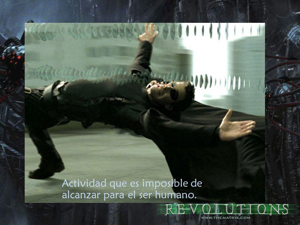 Actividad que es imposible de alcanzar para el ser humano.