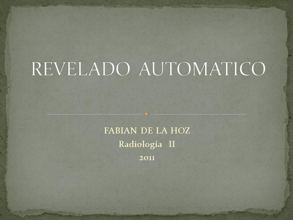 FABIAN DE LA HOZ Radiología II 2011