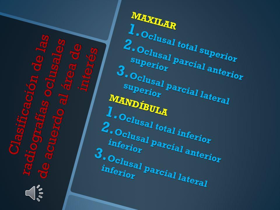 Indicaciones Identificación de lesiones grandes Identificación de lesiones grandes Ubicación buco – lingual de lesiones Ubicación buco – lingual de le