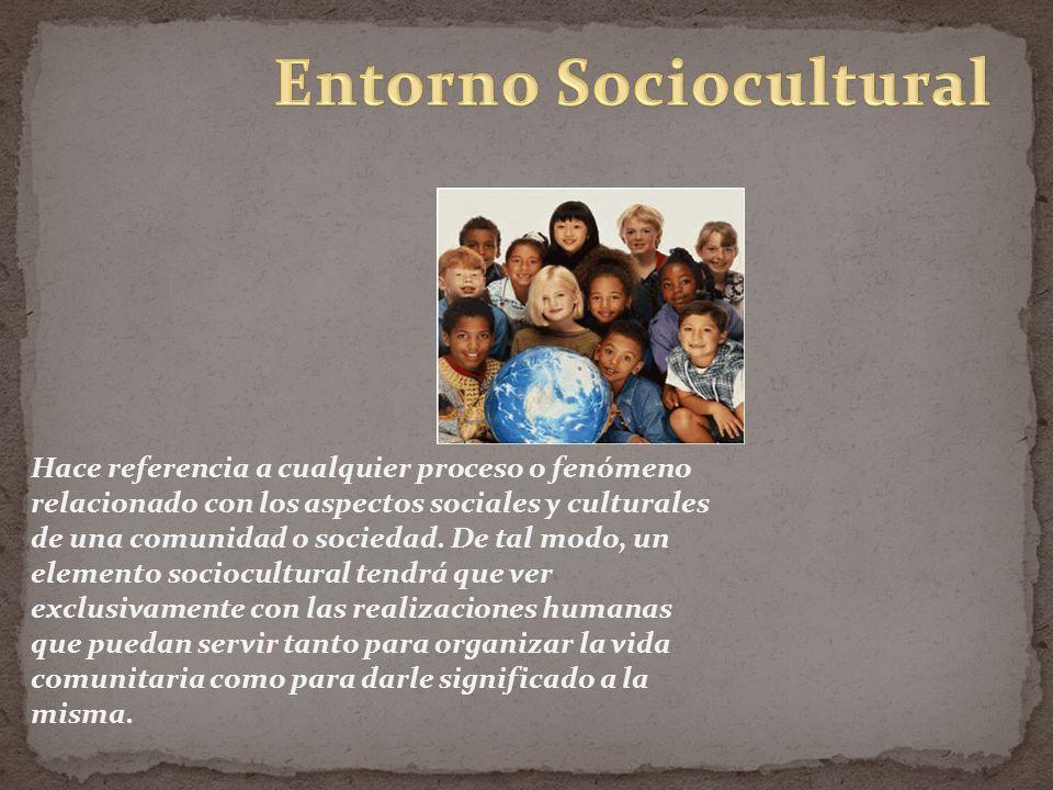 Hace referencia a cualquier proceso o fenómeno relacionado con los aspectos sociales y culturales de una comunidad o sociedad.