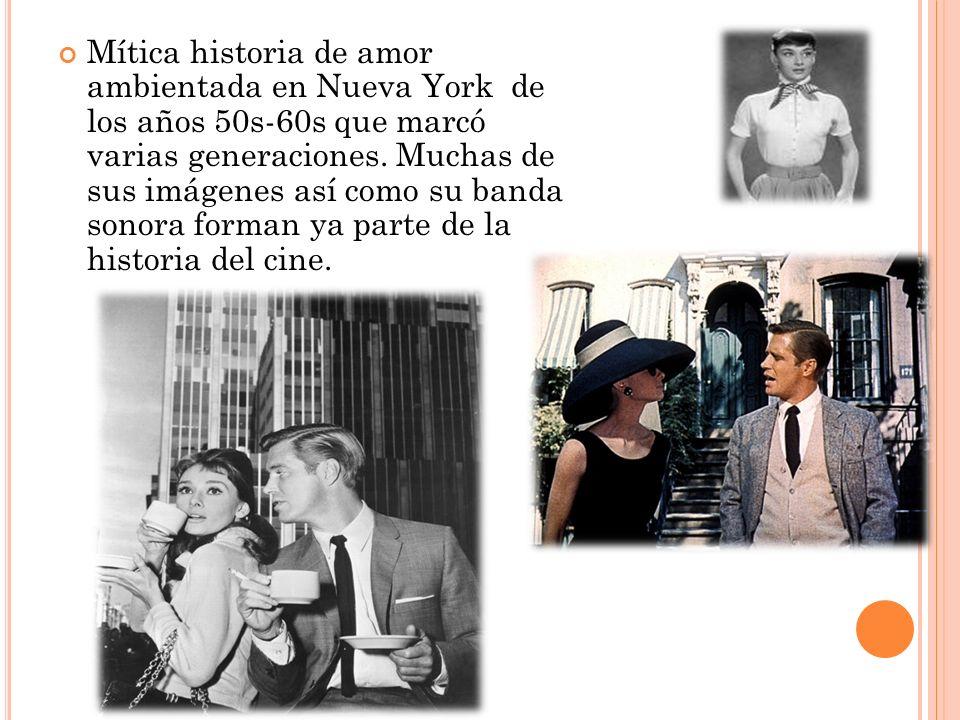 Mítica historia de amor ambientada en Nueva York de los años 50s-60s que marcó varias generaciones. Muchas de sus imágenes así como su banda sonora fo