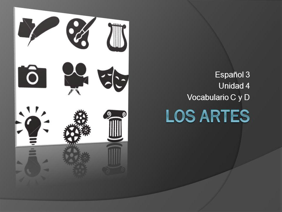 Español 3 Unidad 4 Vocabulario C y D