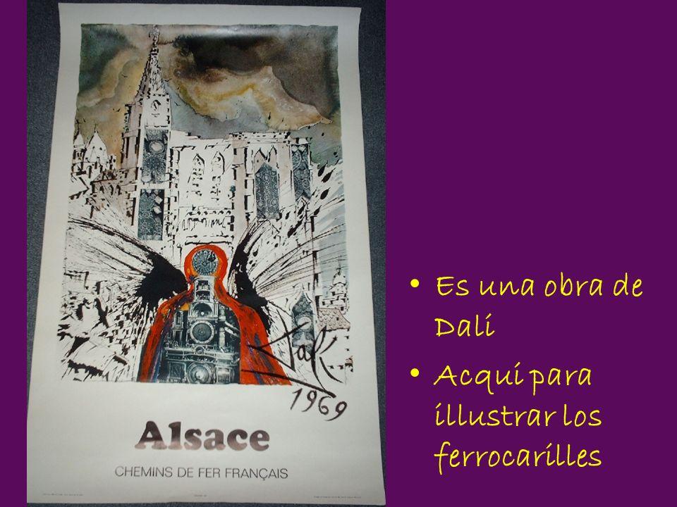 Es una obra de Dali Acqui para illustrar los ferrocarilles