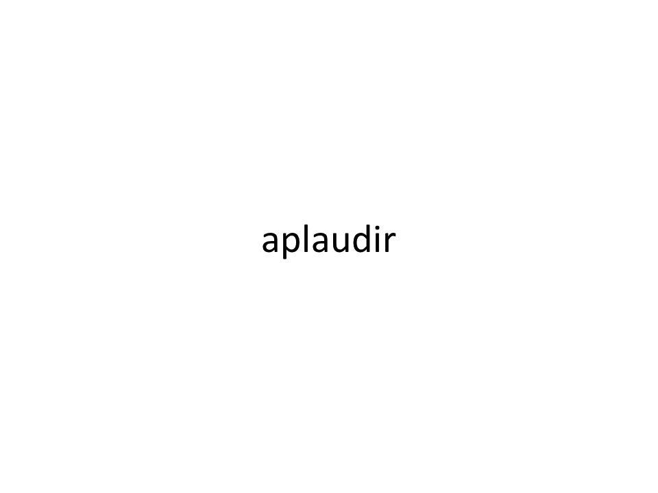 aplaudir