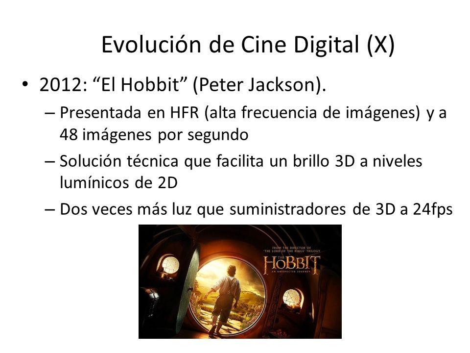 Evolución de Cine Digital (X) 2012: El Hobbit (Peter Jackson).