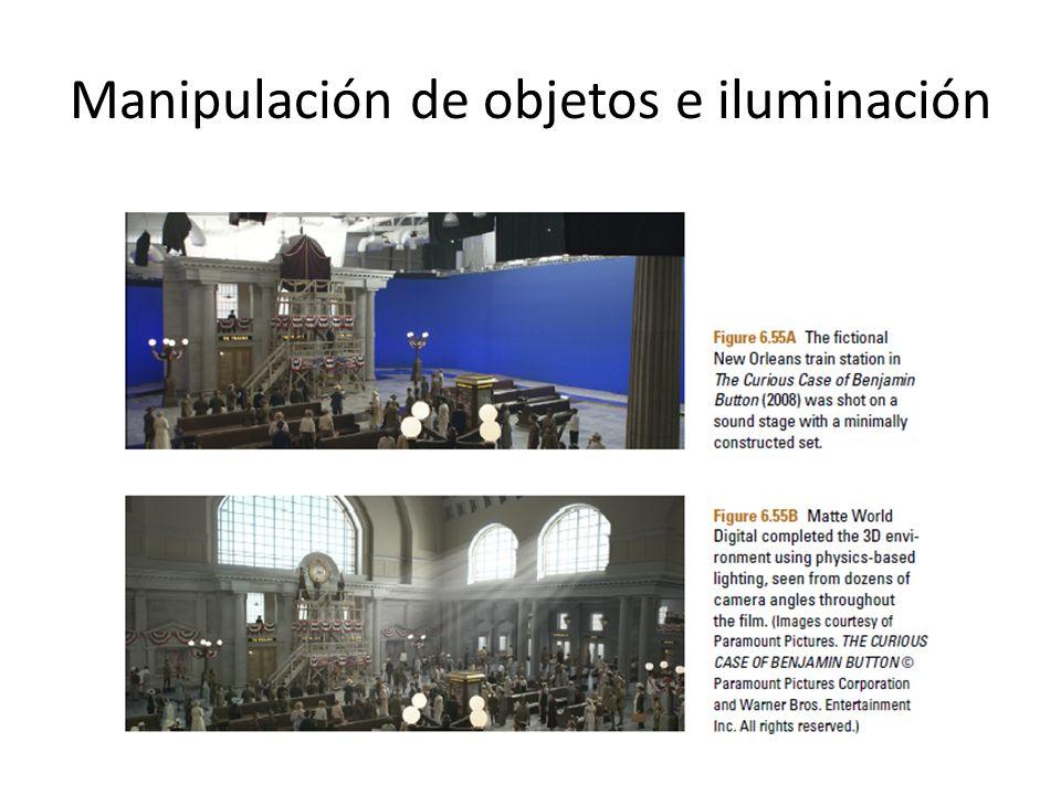 Manipulación de objetos e iluminación