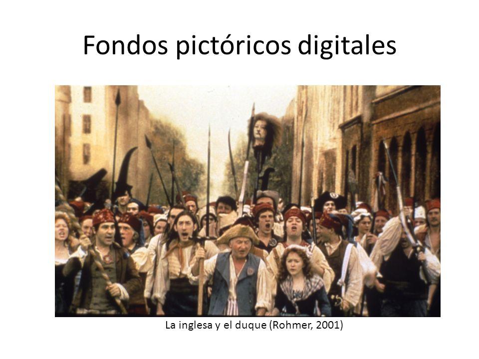 Fondos pictóricos digitales La inglesa y el duque (Rohmer, 2001)