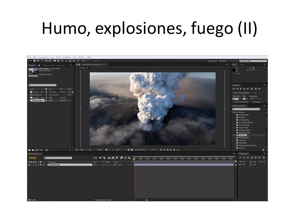 Humo, explosiones, fuego (II)