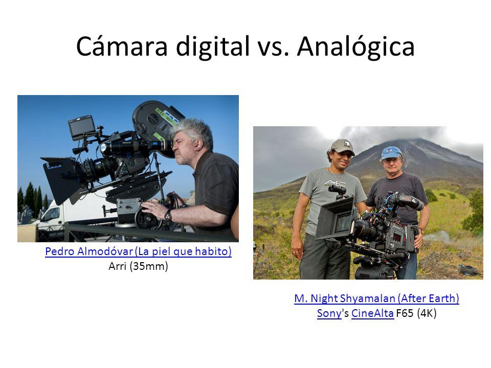 Evolución de Cine Digital (IX) 2012: Cámaras Sony 4K (CineAlta 4k) M.