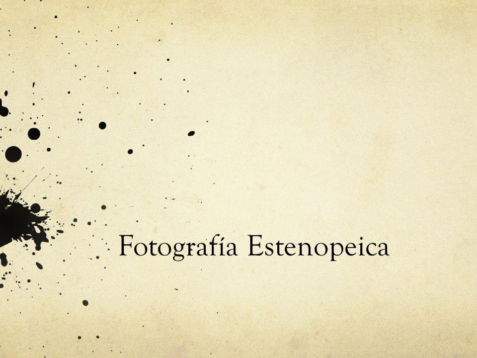 Cámara Estenopeica -Cámara estanca a la luz -Estenopo -Material Fotosensible