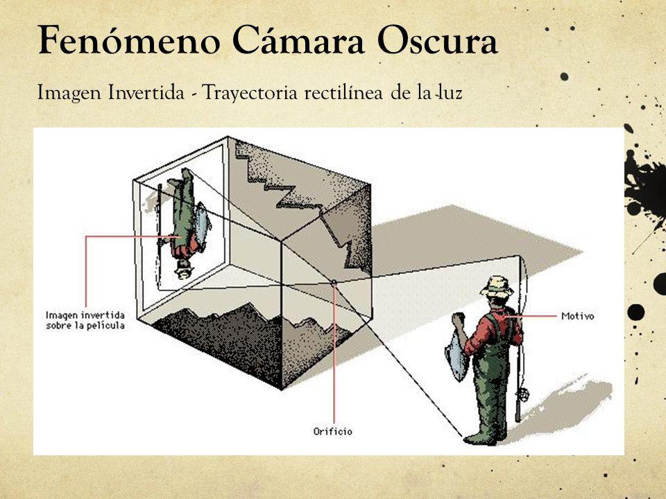 Fenómeno Cámara Oscura Imagen Invertida - Trayectoria rectilínea de la luz