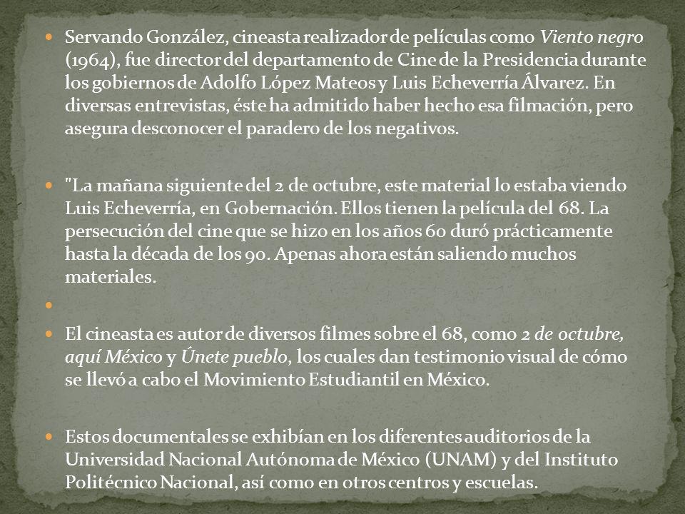 Todavía no sale a la luz la gran película sobre lo que sucedió la tarde del 2 de octubre sobre la Plaza de las Tres Culturas, en Tlatelolco.