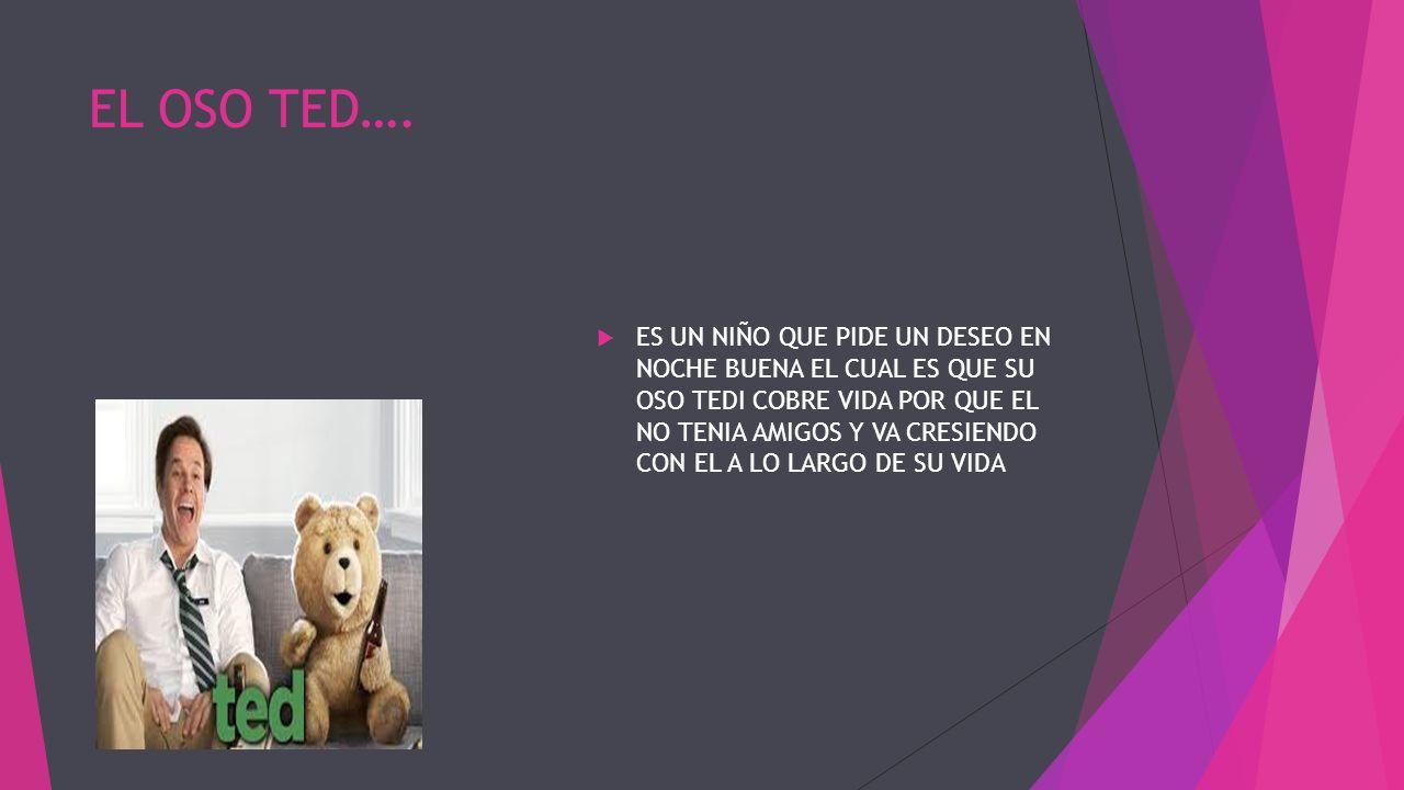 EL OSO TED….