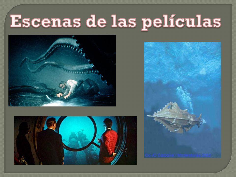 Ned Land Cazador de ballenas Conseil Criado del profesor Capitán Nemo Pierre Aronnax Biologo