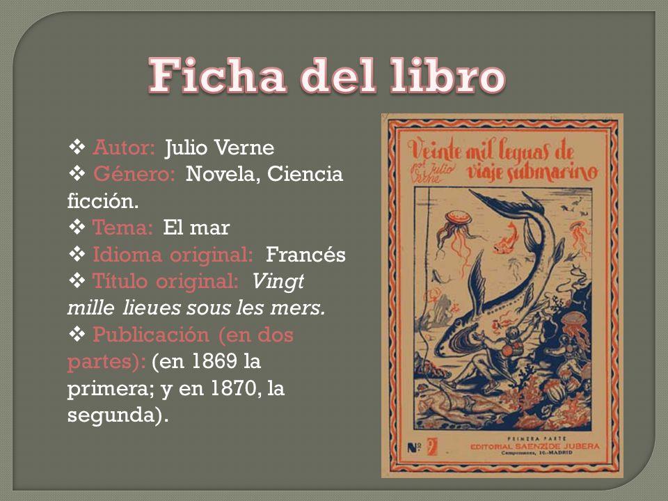 Jules Gabriel Verne (Nantes, 8 de febrero de 1828 – Amiens, 24 de marzo de 1905), conocido en los países de lengua española como Julio Verne, fue un e