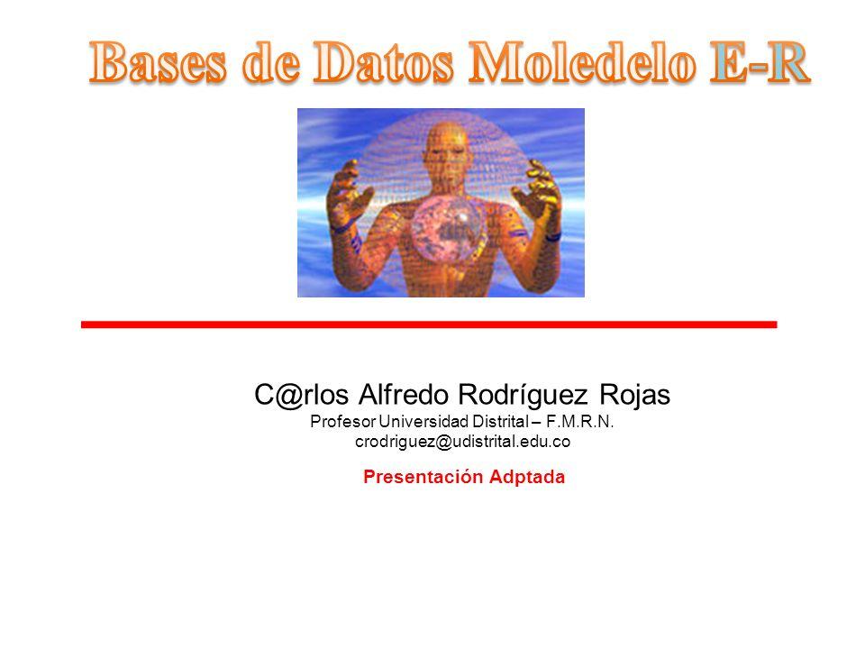 Presentación Adptada C@rlos Alfredo Rodríguez Rojas Profesor Universidad Distrital – F.M.R.N. crodriguez@udistrital.edu.co