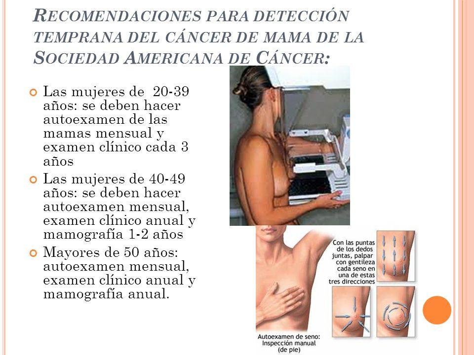 En la mamografía, el tejido anormal se muestra como una densidad de color blanco, pero no siempre es fácil distinguirlo del tejido normal.