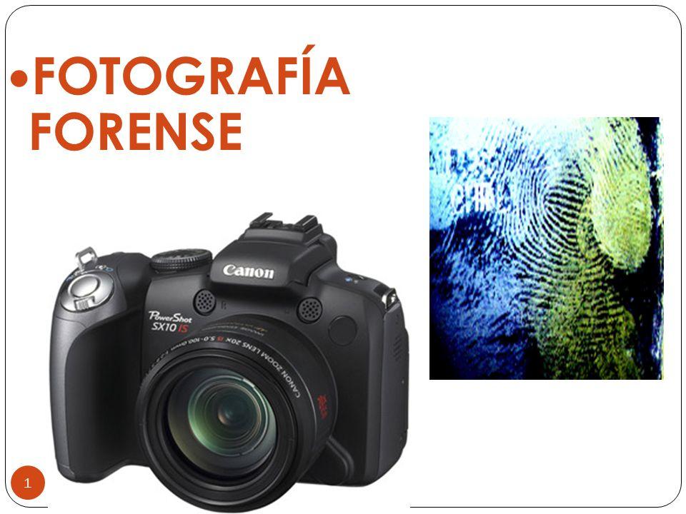 PARTES DE LA CAMARA FOTOGRÁFICA FOTOGRAFIA FORENSE / ALFREDO MUÑOZ 32