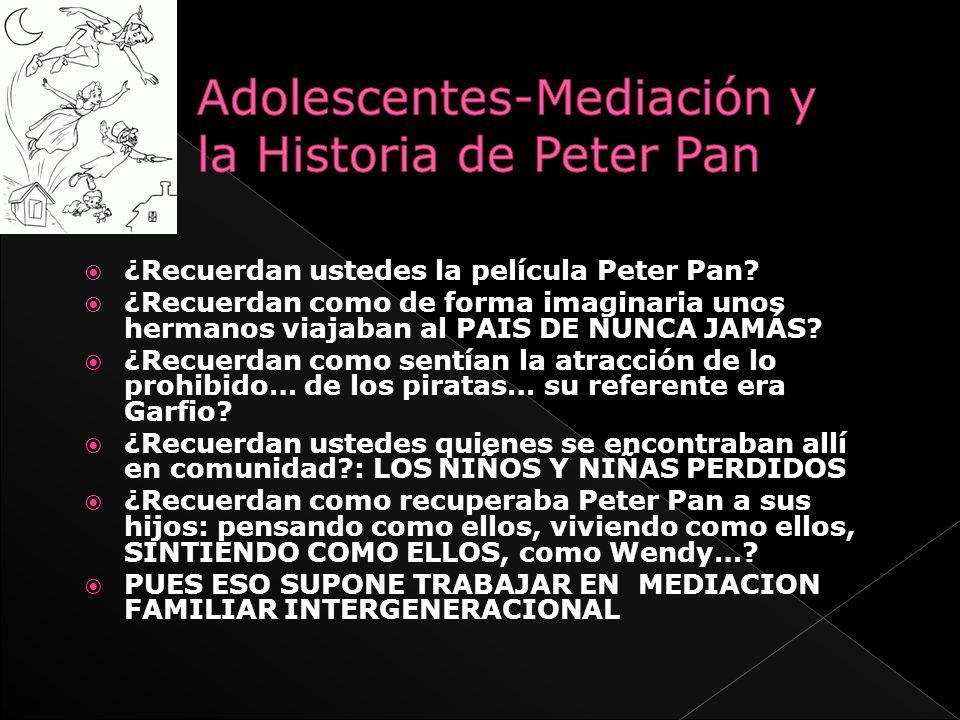 ¿Recuerdan ustedes la película Peter Pan? ¿Recuerdan como de forma imaginaria unos hermanos viajaban al PAIS DE NUNCA JAMÁS? ¿Recuerdan como sentían l