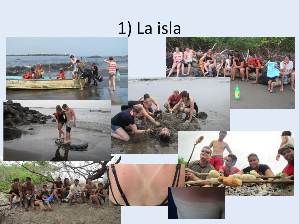 1) La isla