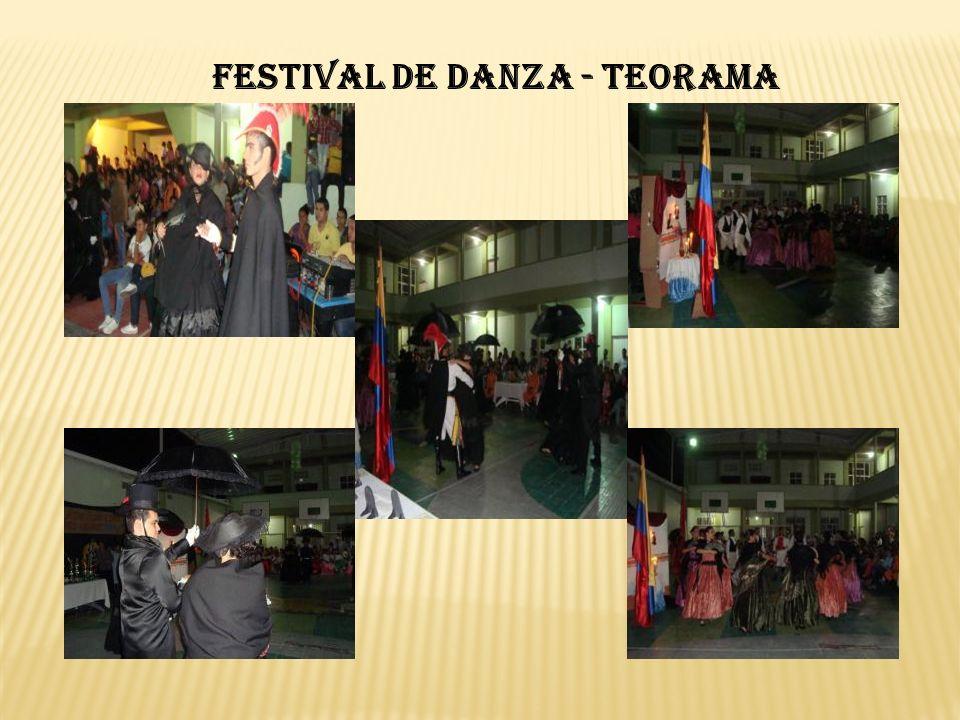 FESTIVAL DE DANZA - TEORAMA