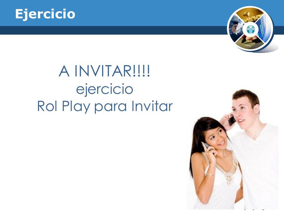 Ejercicio Company Logo A INVITAR!!!! ejercicio Rol Play para Invitar