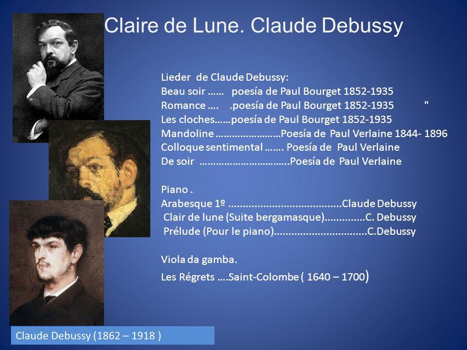 Claire de Lune.