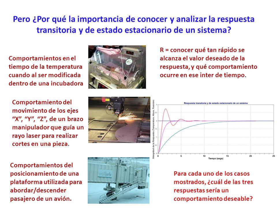 Control automático de la altura de una plataforma de abordaje/descenso De las tres gráficas de respuesta en el tiempo, ¿Cuál sería la respuesta deseable, y por qué?