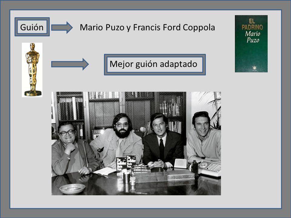 GuiónMario Puzo y Francis Ford Coppola Mejor guión adaptado