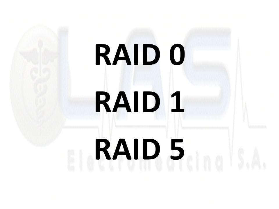 RAID 0 RAID 1 RAID 5