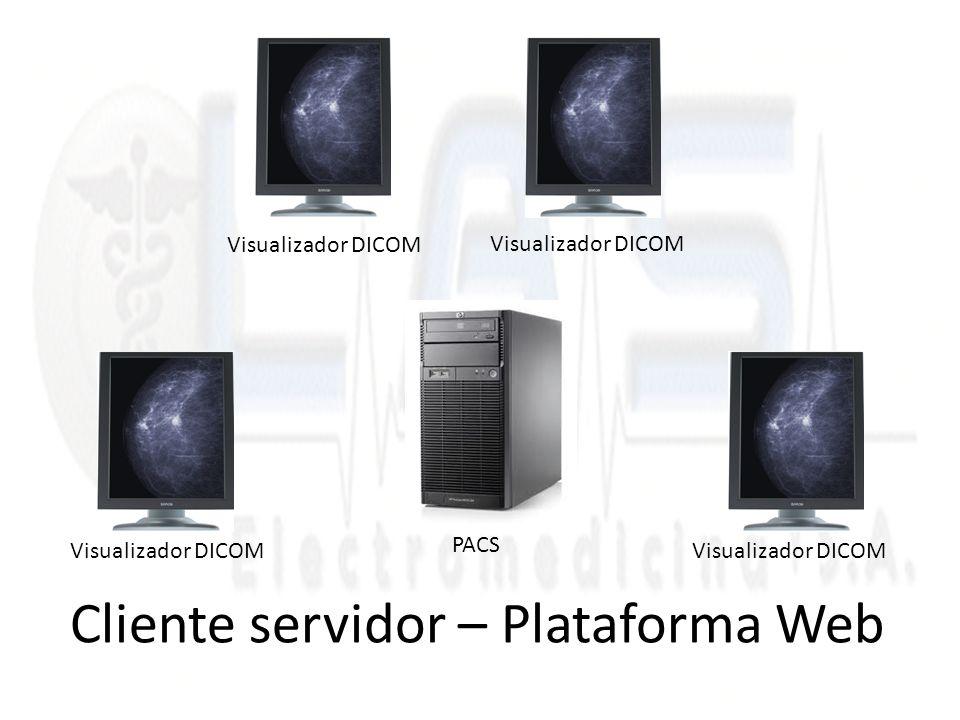 Cliente servidor – Plataforma Web Visualizador DICOM PACS