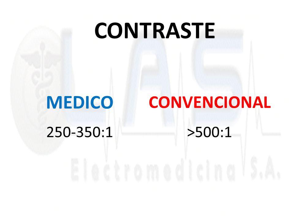 MEDICO 250-350:1>500:1 CONVENCIONAL CONTRASTE