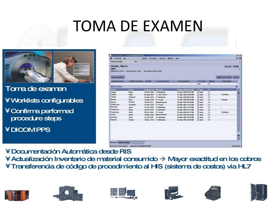 TOMA DE EXAMEN