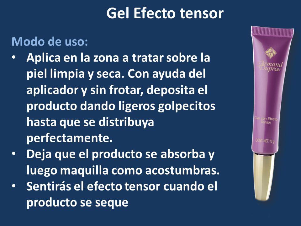 Modo de uso: Aplica en la zona a tratar sobre la piel limpia y seca. Con ayuda del aplicador y sin frotar, deposita el producto dando ligeros golpecit