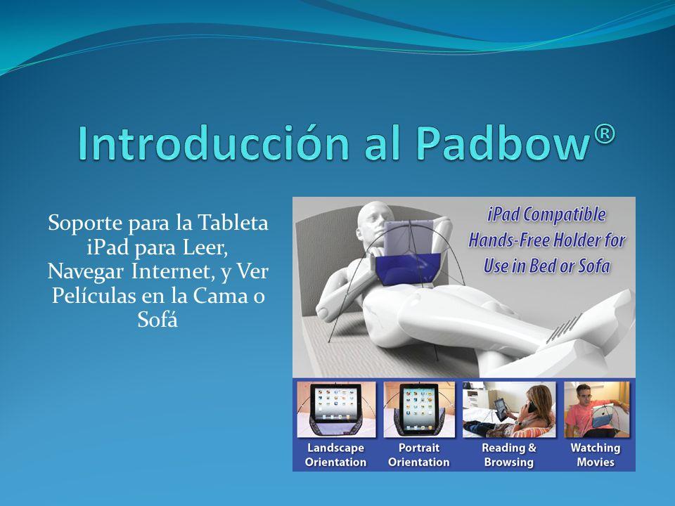 Soporte para la Tableta iPad para Leer, Navegar Internet, y Ver Películas en la Cama o Sofá