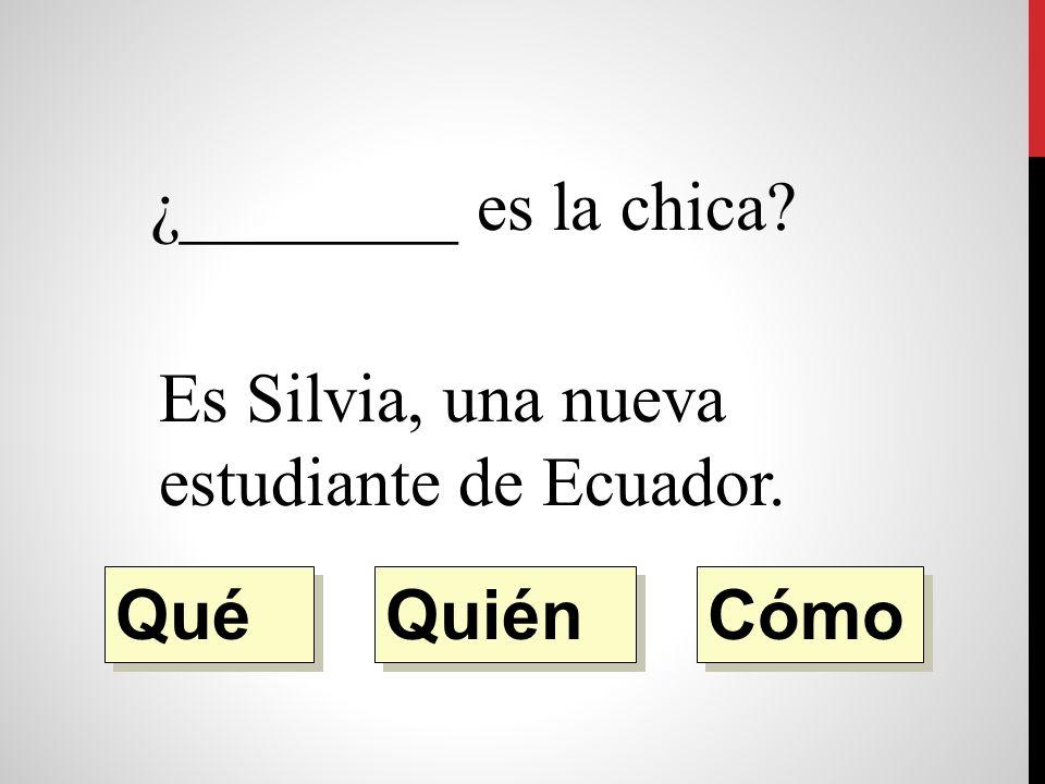¿________ libro es Es un libro de español. Quién Qué Cómo